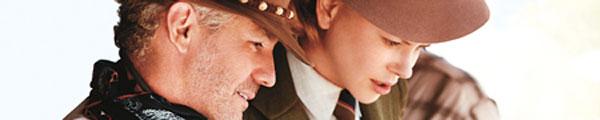 Baz Luhrmann s Nicole Kidmanovou při natáčení filmu Austrálie