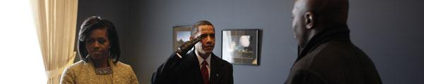OBAMA A OBAMISMUS v Reflexu č. 14, foto Charles Ommanney/Getty Images
