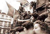 Listopad 1989    - Foto JAN ŠIBÍK